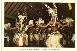 Oceanie -polynesie Française-tahiti-hotel Taaone-la Nuit De La Dance Tahitienne ( Le Groupe Etoile Temaeva (2scann) - Französisch-Polynesien