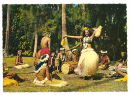 Oceanie - Polynesie Française-tahiti - Daseuse De Otea - Otea Dancing Girl (2scann) - Französisch-Polynesien