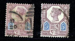 Jubilee 5d.   SG 78   Dies I And II - 1840-1901 (Victoria)