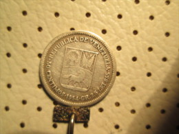 VENEZUELA 50 Centimos 1954 Silver 2.37 Grams - Venezuela