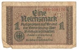 1 Reichsmark (Germany, Deutschland, Allemagne, Deutsches, Allemand, Third Reich) - [ 9] Occupied German Territories