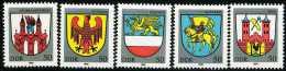DDR - Michel 2934 / 2938 - ** Postfrisch (A) - Stadtwappen III - Ongebruikt
