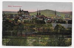 5RECTO / VERSO) METZ EN 1919 - GESAMTANSICHT - PLIS ANGLES PAS - Metz