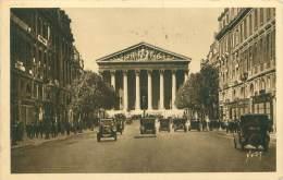 75 - PARIS - La Madeleine Et La Rue Royale - Transport Urbain En Surface