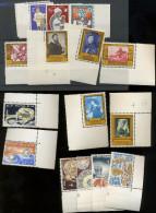 1958/1960  Trois Jolies Séries Art Et Unicef **  Luxe - Belgium