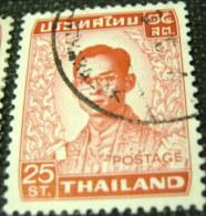 Thailand 1972 King Bhumibol Adulyadej 25st - Used - Thailand