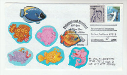 1993 POTAWATOMI FESTIVAL  FISH Pic EVENT COVER  USA  Stamps - Fishes