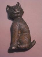 1 FIGURINE FIGURE DOLL PUPPET DUMMY TOY IMAGE POUPÉE - MONOCHROME CAT - Cats