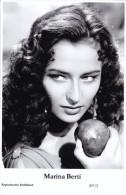 MARINA BERTI - Film Star Pin Up - Publisher Swiftsure Postcards 2000 - Artistes