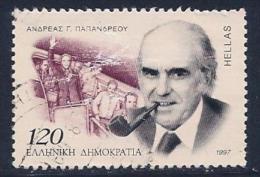 Greece, Scott #1861 Used Papandreou, 1997 - Greece