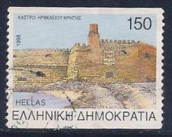Greece, Scott #1912a Used Iraklion Castle, 1998 - Greece