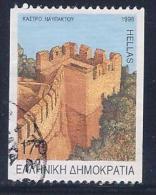 Greece, Scott #1913a Used Navpaktos Castle, 1998 - Greece