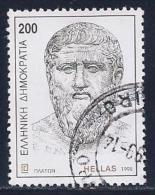 Greece, Scott #1925 Used Plato, 1998 - Greece