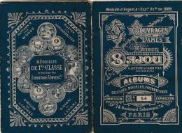 -  Très Beau Petit Album N°54 Pour Modèles De Broderie De Lettres Sur Tissus - 004 - Habits & Linge D'époque