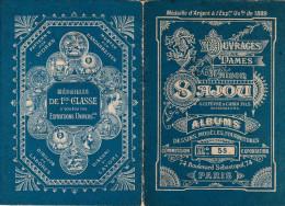 -  Très Beau Petit Album N°55 Pour Modèles De Broderie De Lettres Sur Tissus - 006 - Habits & Linge D'époque