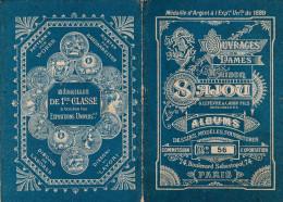 -  Très Beau Petit Album N°56  Pour Modèles De Broderie De Lettres Sur Tissus - 008 - Habits & Linge D'époque
