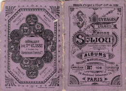 -  Très Beau Petit Album N°108  Pour Modèles De Broderie De Lettres Sur Tissus - 010 - Habits & Linge D'époque