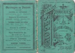 -  Très Beau Petit Album N°655  Pour Modèles De Broderie De Lettres Sur Tissus - 015 - Habits & Linge D'époque