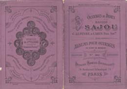 -  Très Beau Petit Album N°205  Pour Modèles De Broderie De Lettres Sur Tissus - 026 - Habits & Linge D'époque