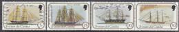 TRISTAN DA CUNHA, 1982 SHIPS 4 MNH - Tristan Da Cunha