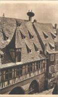 OBERNAI - 67 -  Toit Alsacien Et Son Nid De Cigognes  - Edit Yvon - VAN - - Obernai
