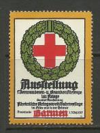 Deutschland Reklamemarke 1915 Ausstellung Verwundeten - Und Krankenfürsorge Darmen MNH - Cinderellas