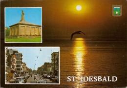 SAINT IDESBALD-KOKSIJDE-COXYDE- MULTIVUES-coucher De Soleil - Koksijde