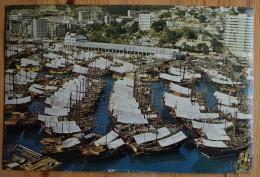 Hong Kong - Aberdeen - 2 CP : Fishing Junk Harbour & One Of The Main Fishing Center - (n°3903) - Dubai