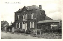 BELGIQUE - NAMUR - EGHEZEE - HARLUE - L'Ecole Communale. (n°1). - Eghezée