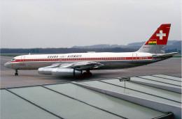 Aviation Postcard-582-GHANA AIRWAYS Convair 990A Coronado - 1946-....: Ere Moderne
