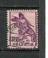 SUISSE - Y&T N° 360° - Le Guerrier Blessé - Used Stamps