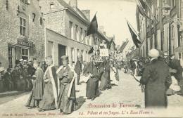FURNES PROCESSION DE FURNES PILATE JUGE JUSTICE L ECCE HOMO POSTKAART BELGIQUE - Veurne