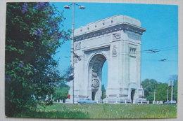 Kt 616 / Bucarest, The Arch Of Triumph - Romania