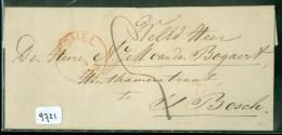 BRIEFOMSLAG Uit 1859 Van VEGHEL Naar ´s-HERTOGENBOSCH (9721) - Paesi Bassi