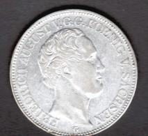 ALLEMAGNE, SAXE, SACHSEN, 1 THALER 1841 G, FRIEDRICH AUGUST - [ 1] …-1871 : German States