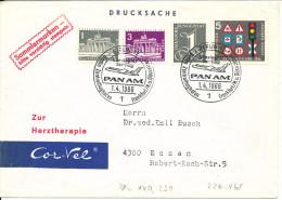 Germany Berlin First Flight Pan Am Berlin - Frankfurt -Düsseldorf 1-4-1966 - [5] Berlin