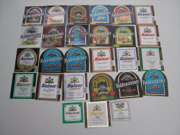 27 Beerlabels Kaiser Bräu / Neuhaus A. D. Pegnitz - Bière