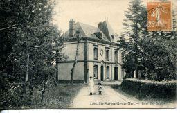 N°4975A -cpa Ste Marguerite Sur Mer -Hôtel Des Sapins- - France