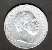 ALLEMAGNE, PREUSSEN, 1 THALER 1866 A - [ 1] …-1871 : German States