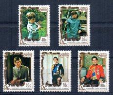 Penrhyn - 1981 - Royal Wedding - MNH - Penrhyn