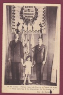 ROYAUTE - 190315 - DUC DE GUISE PRINCE HENRI DE FRANCE COMPTE DE PARIS 3ème REGIMENT DU GENIE MILITARIA - Familles Royales