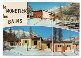 LE MONETIER LES BAINS--Multivues (voitures),cpm N° 375 éd Cellard - Autres Communes