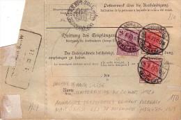 ALLEMAGNE - ANNABERG - MANDAT POSTE DU 21-11-1912 - BEL AFFRANCHISSEMENT . - Allemagne