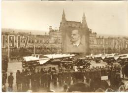 """Photo Ancienne  """"Parade Militaire Sur La Place Rouge à Moscou"""" 1976 - Lieux"""