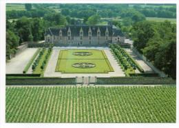 HAUTE-GOULAINE--Vue Aérienne--Chateau De Goulaine--Jardins à La Française Et Le Vignoble,cpm éd Artaud - Haute-Goulaine