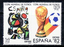 SPAIN 1982 WORLD CUP SPAIN  MNH - 1982 – Spain