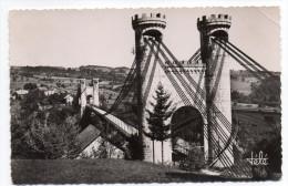 ALLONZIER-LA-CAILLE--1952--Le Pont De La Caille,-beau Cachet AIX LES BAINS ENTREPOT Sur Tp Marianne Gandon - Otros Municipios