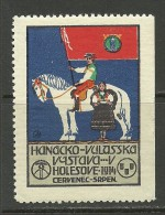TSCHECHOSLOWAKEI 1914 Reklamemarke Vignette Holesove MNH - Tchécoslovaquie