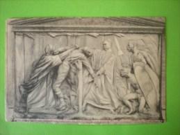 Blankenberge, Bas-relief Du Monument Lippens Et De Bruyne, La Scène De L´assassinat De De Bryune (N) - Blankenberge