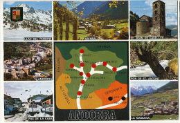 Valls D´Andorra 110 Diversos Aspectos  Timbrée 1978 - Andorra